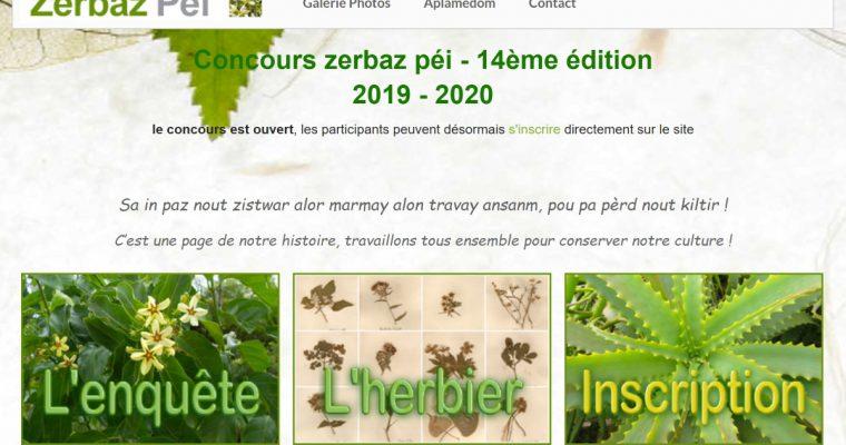 Concours Zerbaz Péi 2020